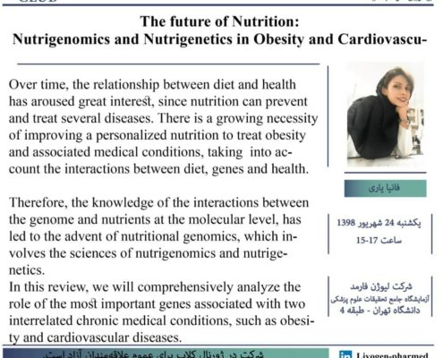 The future of Nutrition: Nutrigenomics and Nutrigenetics in Obesity and Cardiovascular Diseases