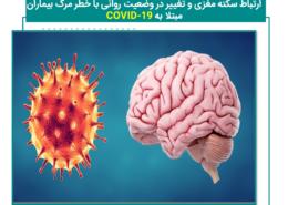 ارتباط سکته مغزی و تغییر در وضعیت روانی با خطر مرگ بیماران مبتلا بهCOVID-19