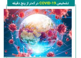 تشخیص COVID-19 در کمتر از پنج دقیقه