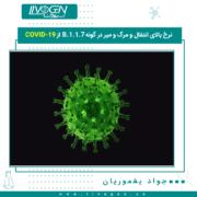 نرخ بالای انتقال و مرگ و میر در گونهB.1.1.7 از COVID-19
